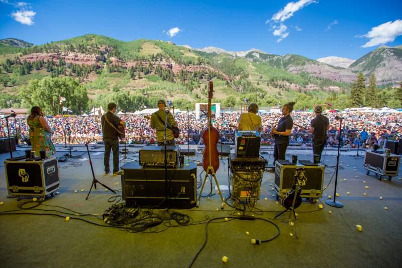 Telluride Bluegrass Festival 2020.General Info Planet Bluegrass Colorado Music Festivals