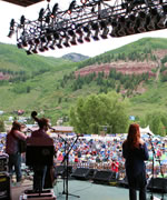 Greensky Bluegrass on the Telluride stage