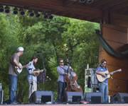 Greensky Bluegrass at RockyGrass 2010 (photo: Benko Photographics)