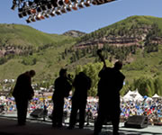 Blue Canyon Boys at Telluride Bluegrass (photo: Benko Photographics)