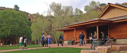 Wildflower Pavilion front entrance