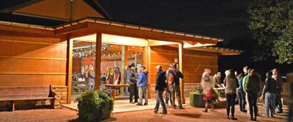 Wildflower Pavilion box office on Planet Bluegrass