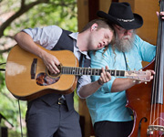 Billy Strings at 2015 RockyGrass  (photo: Benko Photographics)
