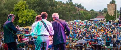 Vance Gilbert at the 2016 Folks Festival (photo: Sam Crump)