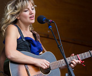 Anais Mitchell at the 2011 Folks Festival