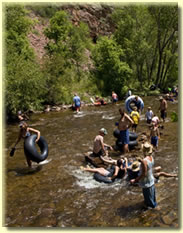 St. Vrain River during RockyGrass