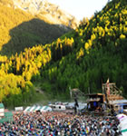 Telluride Bluegrass at sunset