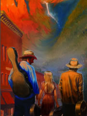 2009 Telluride Bluegrass artwork
