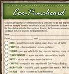Eco-Punchcard
