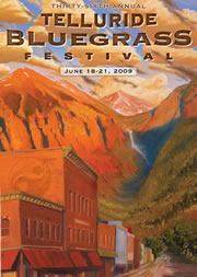 2009 Telluride Bluegrass art