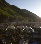 Telluride Bluegrass festivarians [photo: Tory Williams]