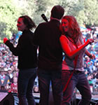 The Waifs at the Folks Festival (photo: Jennifer Schumacher)