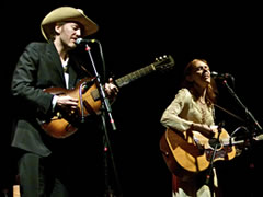 Dave Rawlings & Gillian Welch (photo: Joshua Elioseff)