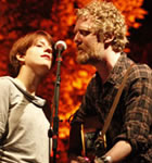 Marketa Irglova & Glen Hansard of The Swell Season (photo: Benko Photographics)