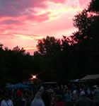 Sunset on Planet Bluegrass