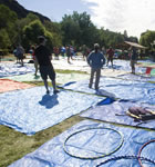 RockyGrass tarps (photo: Brian Carney)