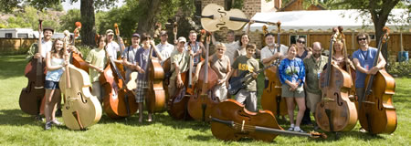 RockyGrass Academy bass classes (photo: Benko Photographics)