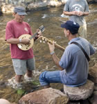 Academy instructors jamming in the St. Vrain River (photo: Benko Photographics)