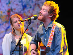 Glen Hansard & Marketa Irglova of The Swell Season (photo: Benko Photographics)