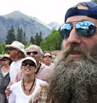 Telluride festivarians (photo: Brian Carney)