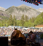 Bela Fleck at Telluride Bluegrass