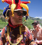 Telluride festivarian (photo: Brian Carney)