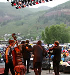Punch Brothers on the Telluride stage
