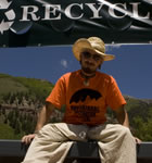 Sustainable festivarian at Telluride Bluegrass