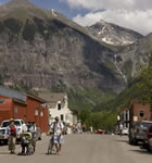 Telluride, CO during Bluegrass