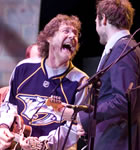 Sam Bush & Chris Thile at Telluride Bluegrass