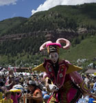 Kids parade at Telluride Bluegrass