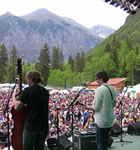 YMSB on the Telluride Bluegrass stage