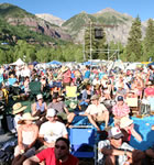 Telluride Bluegrass festivarians (photo: Benko Photographics)