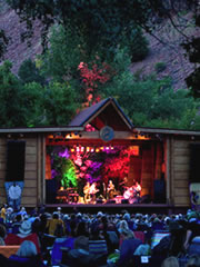 Folks Festival stage in Lyons (photo: Brian Carney)