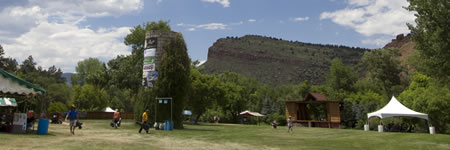 Planet Bluegrass Ranch during RockyGrass Academy (photo: Benko Photographics)