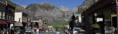 Colorado Avenue in Telluride (photo: Benko Photographics)
