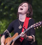 Missy Higgins on the Folks Fest stage (photo: Benko Photographics)