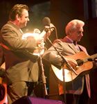 Del McCoury Band at RockyGrass (photo: Benko Photographics)
