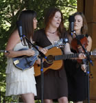 Della Mae at RockyGrass (photo: Benko Photographics)