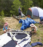 On-Site campground at RockyGrass (photo: Benko Photographics)