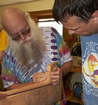 Instrument building at the RockyGrass Academy (photo: Benko Photographics)