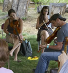 RockyGrass Academy fiddle class (photo: Benko Photographics)