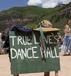 Dance area at Telluride Bluegrass (photo: Tory Williams)