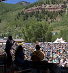Carolina Chocolate Drops at 2010 Telluride Bluegrass (photo: Benko Photographics)