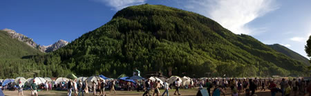 Telluride Bluegrass audience (photo: Benko Photographics)