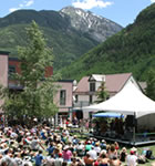 Elks Park stage in Telluride (photo: Benko Photographics)
