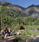 Along the San Miguel River in Telluride (photo: Benko Photographics)