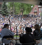 Bela Fleck workshop at Telluride Bluegrass (photo: Benko Photographics)
