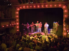 Yonder Mt String Band & Friends at the Sheridan Opera House (photo: Benko Photographics)