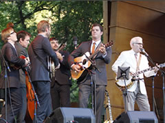 Steve Martin & Steep Canyon Rangers at RockyGrass (photo: Benko Photographics)